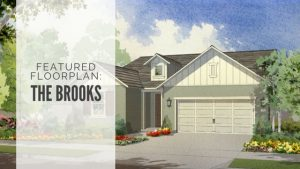 Featured Floorplan - the Brooks at Orchard Lane