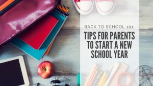 preparation tips for new school year
