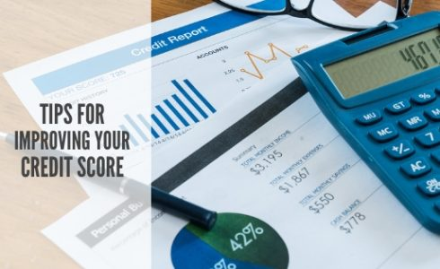 Tips for improving your credit score