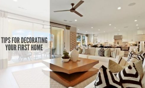 Tips for Decorating Your First Home
