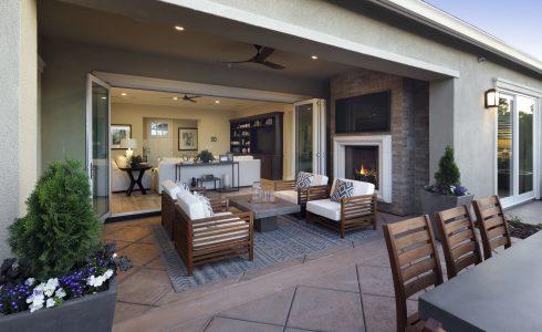 indoor-outdoor living space